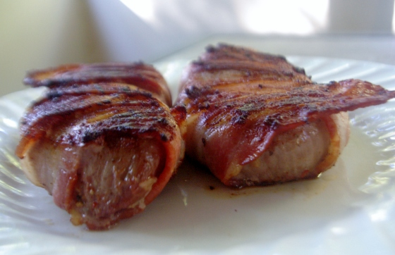Bacon Wrapped Steaks