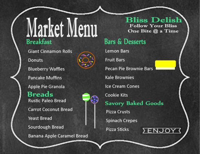 market menu